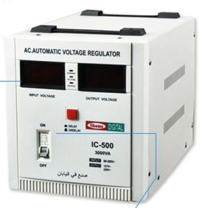 Big Input Voltage Range AC Low Power 220V 3000VA Voltage Stabilizer pictures & photos