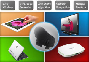 Promotional Gift Computer Mini 2.4G Wireless Ring Optical Wireless Mouse pictures & photos