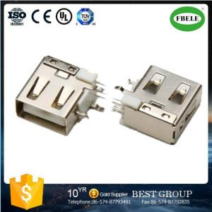 Panel Mount Waterproof Connector Terminal Micro USB Connector USB Connector (FBELE) pictures & photos