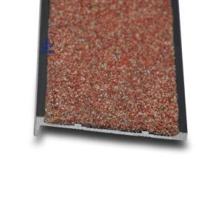 Non Slip Carborundum Aluminum Stair Nosing pictures & photos