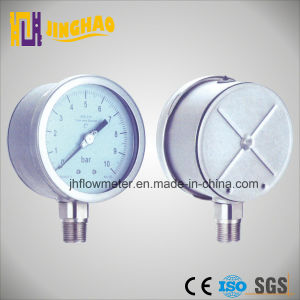 2.5 Inch 63mm 16kpa 1600mmh2o Low Presure Capsule Bellows Pressure Gauge (JH-YL-TFE) pictures & photos