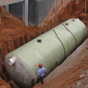 FRP Winding Bio Septic Tank pictures & photos