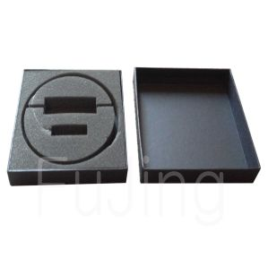 Recycled Black Kraft Paper Box Essential Oil Boxes for Sale pictures & photos
