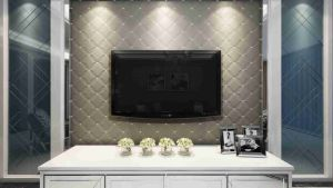 Customized Leather 3D Panel SL-011 for Indoor Wall Decoration pictures & photos