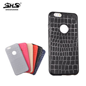 Popular Style Crocodile Grain TPU Cell Phone Case