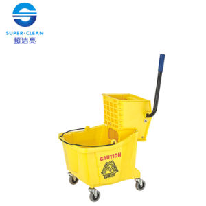 36L Single Mop Wringer Trolley (B-040) pictures & photos