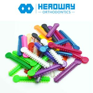 High Quality Elastic, Orthodontic Elastomeric Ligature Ties with 1040 Rings pictures & photos