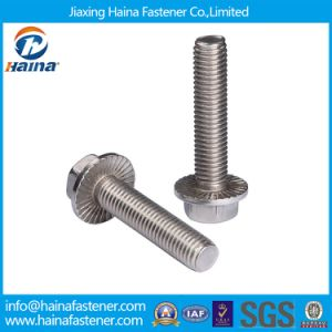 Stainless Steel 316 Flat Head Hexagon Flange Bolt M2-30 pictures & photos