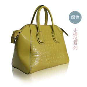 High Quality Crocs Leather European Designs of Ladies Handbags pictures & photos