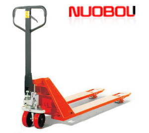 Compact Design Low Hand Pallet Truck with AC Pump