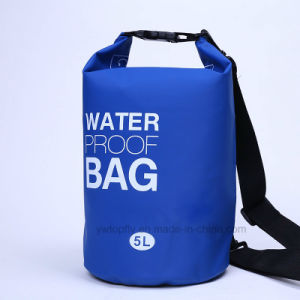 Outdoor Sports 10L PVC Waterproof Barrel Backpack Dry Bag pictures & photos