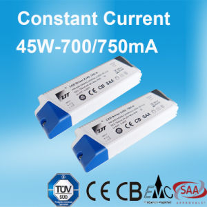 45W 40-62V Constant Current LED Power Supply with Ce