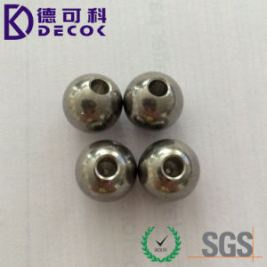 2mm AISI304 Grade100 200 Stainless Steel with Hole Drilled Ball pictures & photos