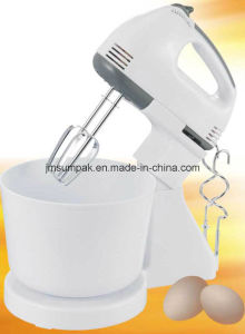 7 Speed Portable Hand Mixer Blender for Flour pictures & photos