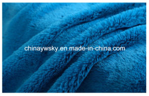 Plush Material Fabrics/Knitted Plush Fabric/PV Fleece Fabrics pictures & photos