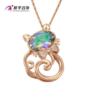 Xuping Fashion Luxury Round CZ Crystal Jewelry Warovski Pendant (32582) pictures & photos