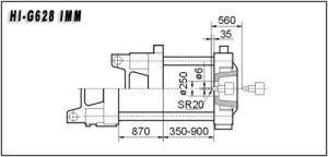 628t Plastic Injection Molding Machine Hi-G628 pictures & photos