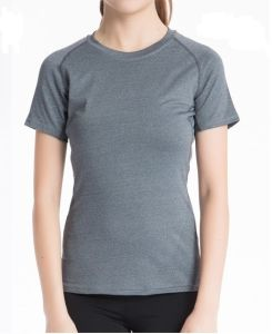 Quicking-Dry Womens Fitness T-Shirt for Gym pictures & photos