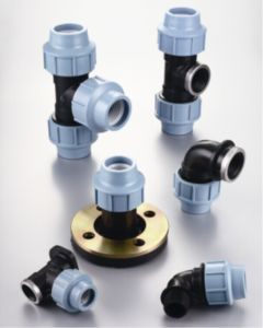 Tee Irrigation System PP Compression Fittings pictures & photos