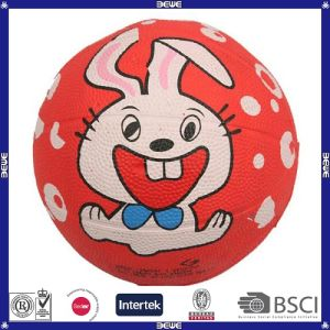 Kids Like Promotional OEM Customized Rubber Basketball Balls pictures & photos