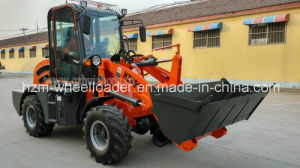 CE Low Price Good Quality Hzm 910 Mini Front Wheel Loader pictures & photos