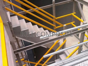 Fibreglass/GRP Safety Handrailing, Suitable for Stairs, Ramps, Walkways pictures & photos