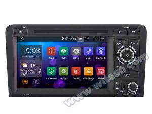 Witson Android 5.1 System Car DVD for Audi A3 (W2-F9763A) pictures & photos