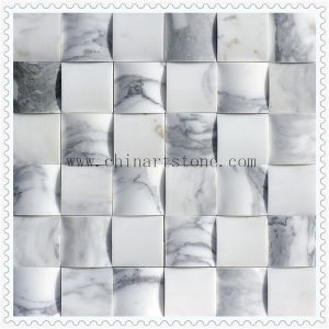 White 3D Marble Mosaic for Wall Tile pictures & photos