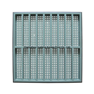 600*600 Full Steel Perforated Floor pictures & photos