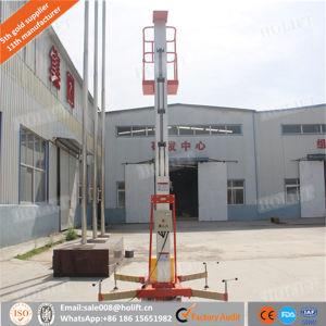 10m Single Mast Electric Aluminium Man Lift pictures & photos