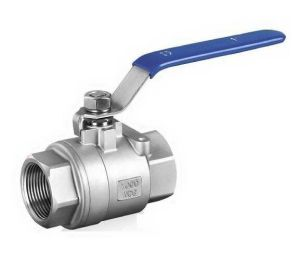 Stainless Steel Two Pieced Ball Valve pictures & photos