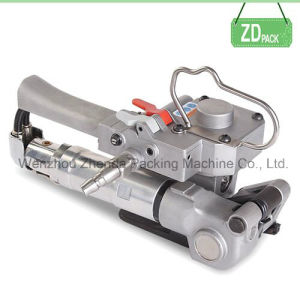 Pneumatic Pet Plastic Strapping Machine (XQD-19) pictures & photos
