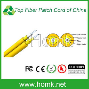 Duplex Zipcord GJFJV Fiber Optic Cable pictures & photos