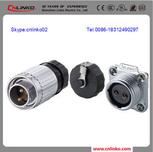 UL, CE IP67 Industrial Plug and Socket/20mm Plug Connector for PV Inverter pictures & photos