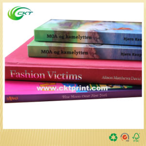 Custom Softcover and Hardcover Full Color Book Printing with A4 A5 (CKT - SB- 201)