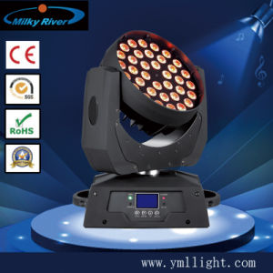 17/18CH 36PCS 10W 4-in -1 LED Moving Head Light Wash pictures & photos