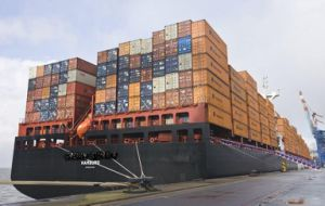 FCL Sea Freight From Shanghai, China to Laredo, Texas, USA