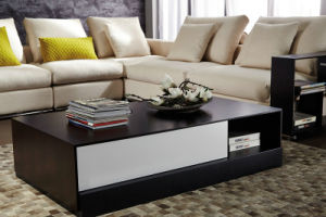 Modern Furniture Wooden Tea Table for Living Room (Fh-3102)