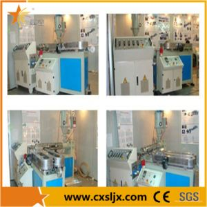 PVC/HDPE Single Wall Corrugated Pipe Production Line pictures & photos