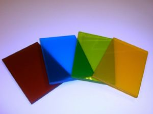 Clear and Colored Laminated Glass with SGS Certificate (JINBO) pictures & photos