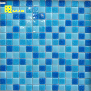 Mosaic Glass Tiles with Low Price Blue Swimming Pool pictures & photos