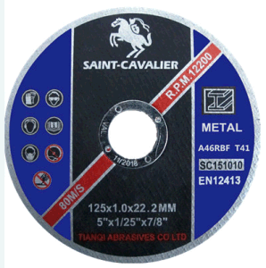 Ultra Thin Cutting Disc for Metal/Steel 125X1.0X22.23 pictures & photos