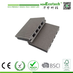 Non-Slip WPC Decking, Ipe Wood Plastic Decking, Polystyrene Plastic Decking pictures & photos