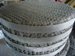 Structured Metal Perforated Plate Corrugated Packing (Mellapak Packing) pictures & photos