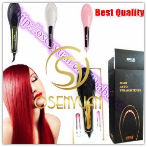100% Original Nasv-100 Professional PRO Ceramic Automatic Hair Straightener Brush pictures & photos