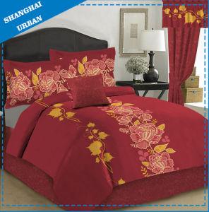 3 PCS Cotton Polyester Print Duvet Cover (set) pictures & photos