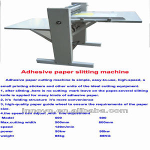 Innovo Adhesive Paper Slitting Machine pictures & photos