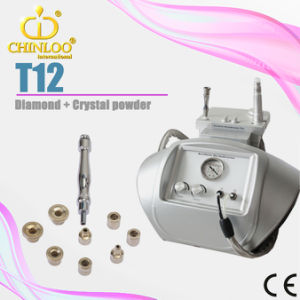 Crystal Power & Portable Diamond Skin Beauty Machine (T12) pictures & photos