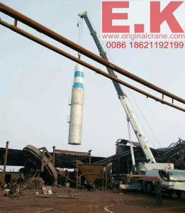 Zoomlion 70ton Hydraulic Jib Mobile Crane Lifting Equipment (QY70K) pictures & photos