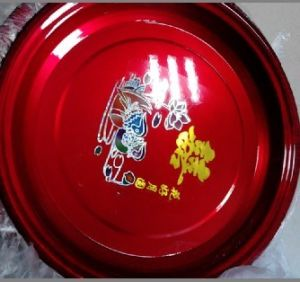 2015 Red Color Stainless Steel Plate Wholesale pictures & photos